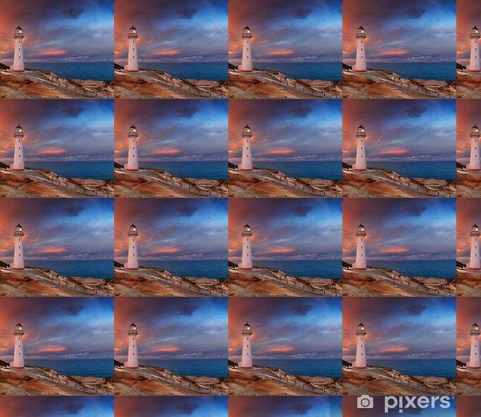 Vinylová tapeta na míru Castle Point Lighthouse, Nový Zéland - Mořské majáky