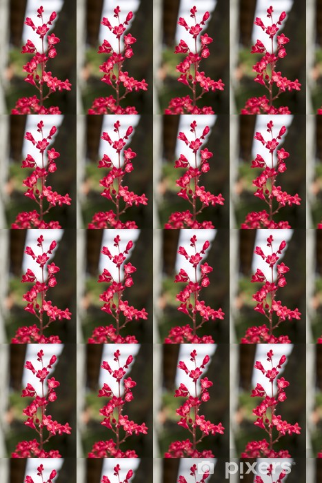 Papier peint vinyle sur mesure Fiorellini fuchsia - Fleurs