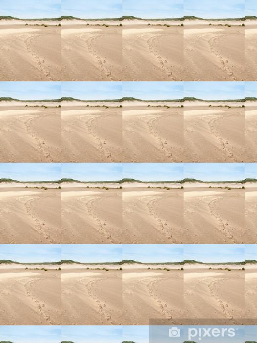 Papier peint vinyle sur mesure Été paysage de dunes - Nature et régions sauvages