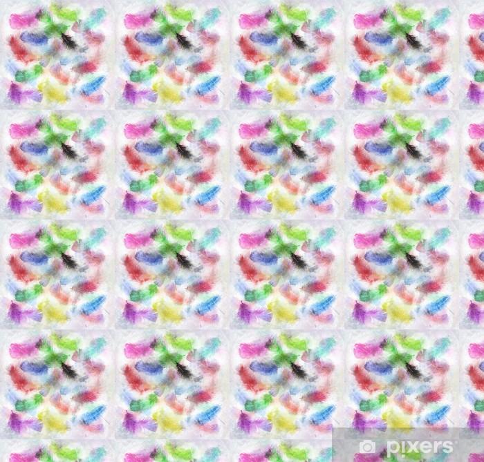 Papier peint vinyle sur mesure Image d'aquarelle de plumes - Arrière plans