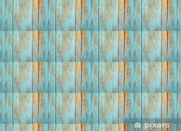 Vinyltapete nach Maß Holz blau-Panel - Themen