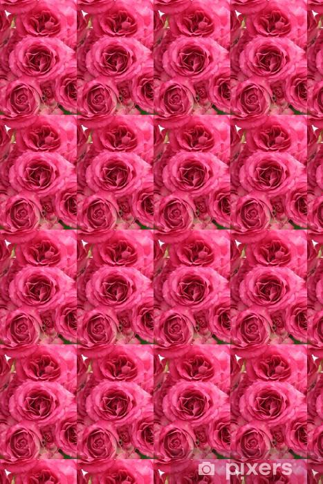 Vinylová tapeta na míru Pozadí růžových růží - Květiny