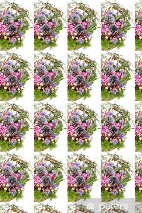 Tapeta na wymiar winylowa Bukiet z kolorowych kwiatów - Kwiaty