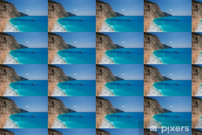 Vinylová tapeta na míru Porto Katsiki pláž (Lefkada) - Voda