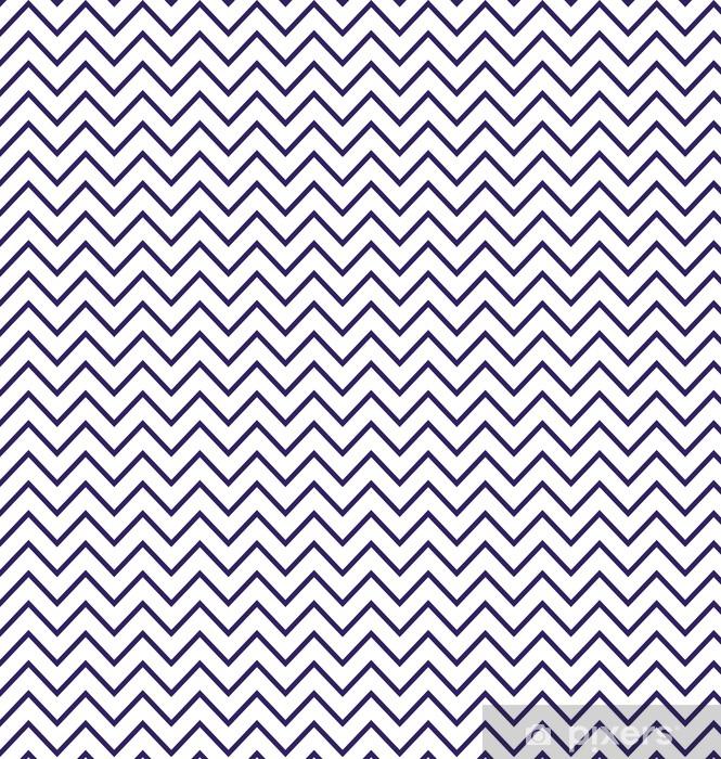 Vinylová tapeta na míru Abstraktní geometrické cik-cak bezešvé vzor v černé a bílé - Pozadí