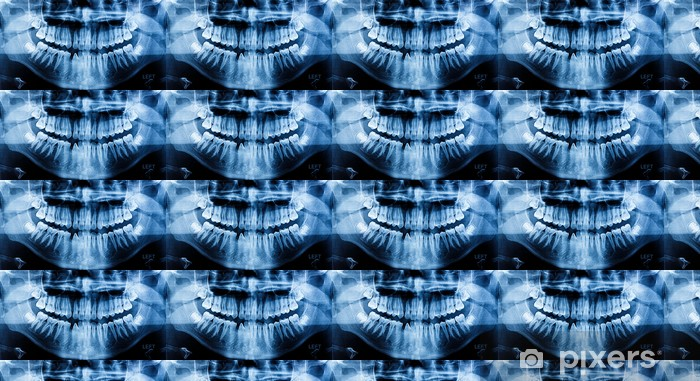 Papier peint vinyle sur mesure Photo X-Ray balayage humaine - Beauté et soins du corps