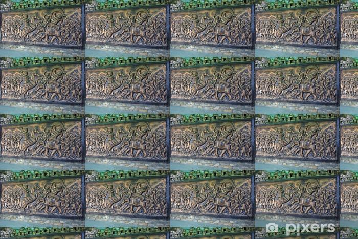 Tapeta na wymiar winylowa Sceny z wojny tablica - Azja