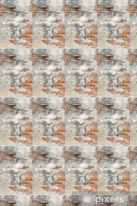 Tapeta na wymiar winylowa Stare cegły i cement wall - Tematy