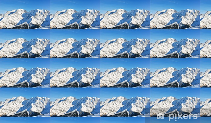 MontBlanc mountain in Alps Vinyl custom-made wallpaper - Europe