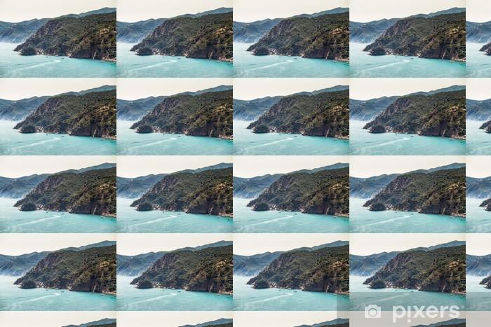 Papier peint vinyle sur mesure Costa Brava paysage - Eau