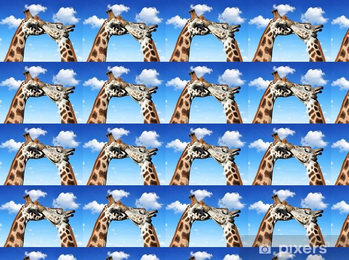 Tapeta na wymiar winylowa Kochać żyrafy - Tematy