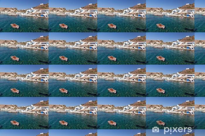 Tapeta na wymiar winylowa Goupa osada rybacka, wyspy Kimolos, Cyklady, Grecja - Europa