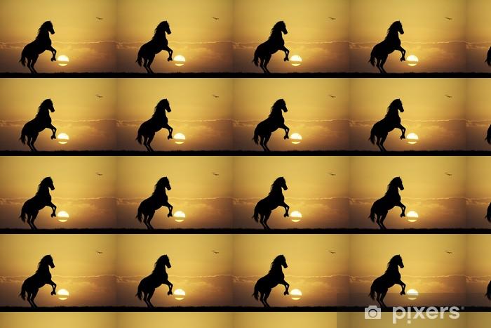 Tapeta na wymiar winylowa Galopujacy koń - Ssaki