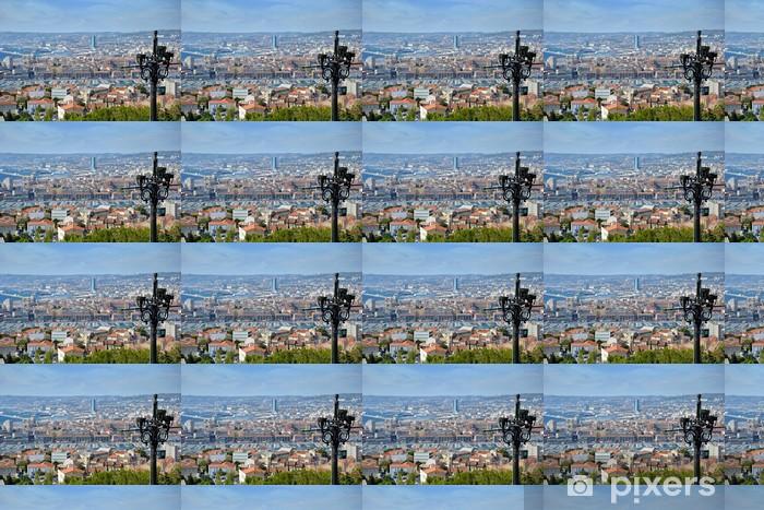 Vinyltapete nach Maß Quartier de Marseille vu de Notre de la Garde - Europa