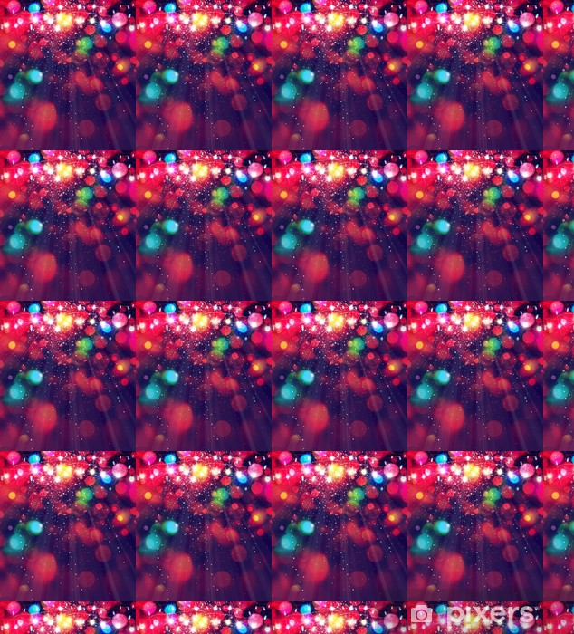 Colorful Christmas Lights Background.Colorful Christmas Lights Background Wallpaper Vinyl Custom Made