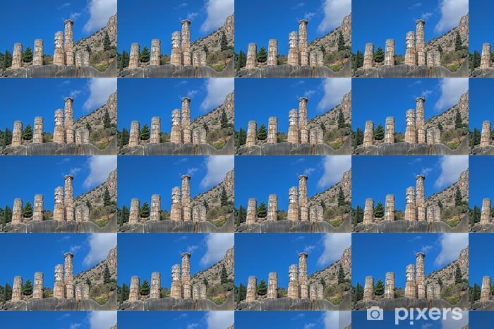 Vinyltapete nach Maß Apollo-Tempel in Delphi Orakel archäologischen Stätte in Griechenland - Europa