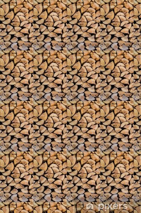 Vinylová tapeta na míru Skupina střih kmeny stromů - Struktury