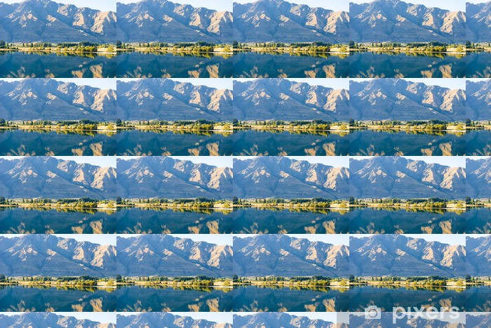 Papier peint vinyle sur mesure Paysage pittoresque - Montagne