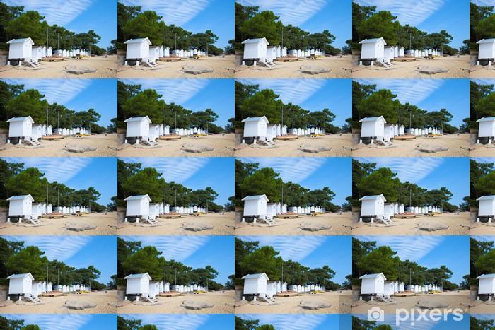 France > Vendée > Noirmoutier > Plage Vinyl custom-made wallpaper - Holidays