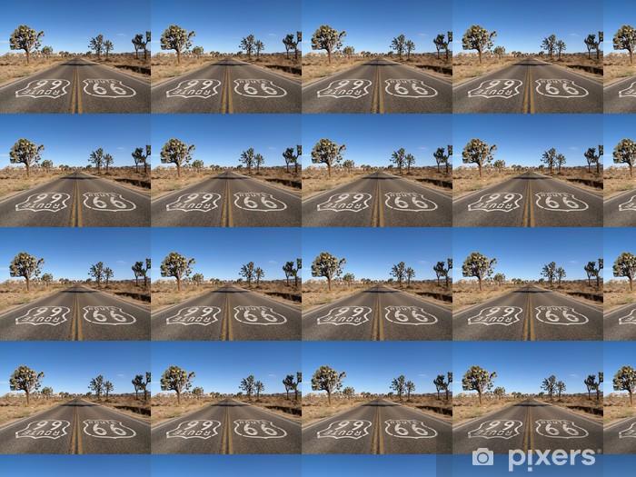 Tapeta na wymiar winylowa Route 66 Desert - Tematy