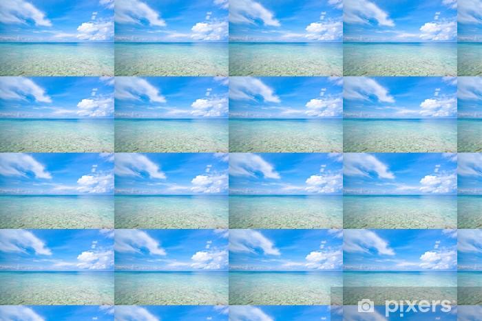 Vinylová tapeta na míru Pláž tropické křišťálově čisté moře, Tachai island, Andaman, Tha - Asie