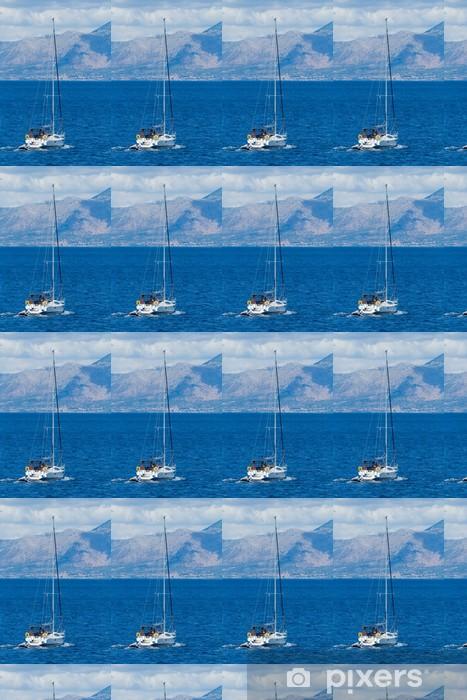 Vinylová tapeta na míru Plachtění kolem Lefkada Island I - Lodě