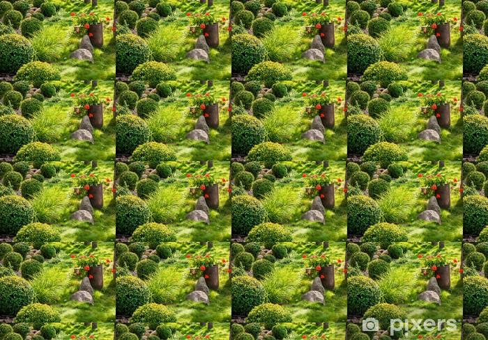 Vinylová tapeta na míru Zahrada a květiny - Domov a zahrada