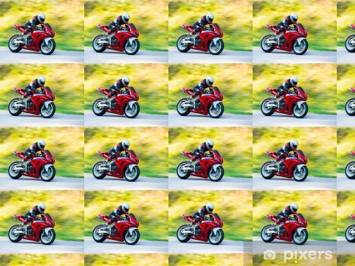 Motorbike racing Vinyl custom-made wallpaper - Extreme Sports