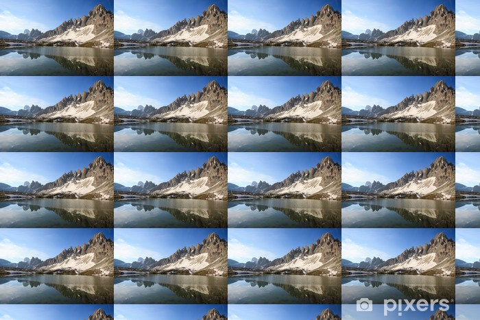 Tapeta na wymiar winylowa Plany Lake (Dolomity) - Europa