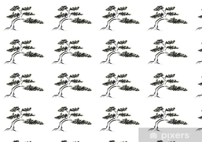Mürekkep Boyama çam Ağacı Duvar Kağıdı Pixers Haydi Dünyanızı