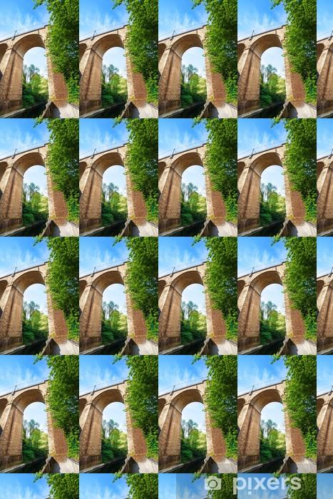 Tapeta na wymiar winylowa Zamknąć widok viaduc (pomostowa) łuk, Luksemburg - Europa