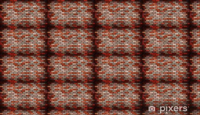 Tapeta na wymiar winylowa Ceglana ściana - Tekstury