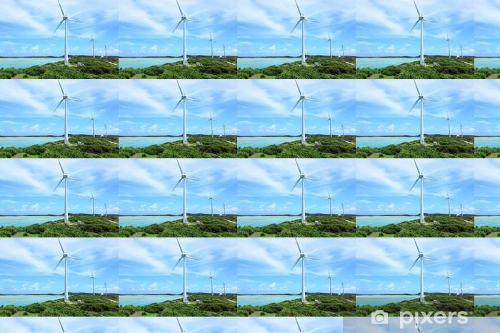 Tapeta na wymiar winylowa Siła wiatru - Ekologia