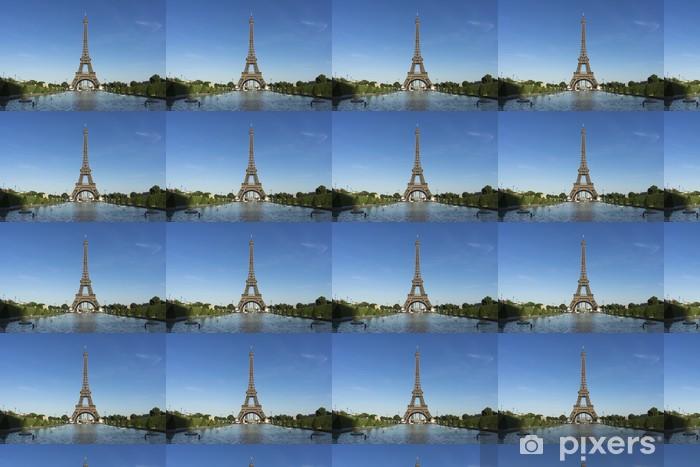 Tapeta na wymiar winylowa Ulice Paryża z wieży Eiffla - Inne