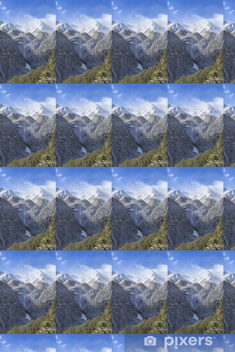Tapeta na wymiar winylowa Górski krajobraz - Pory roku