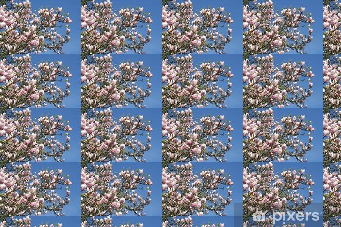 Vinyltapete nach Maß Blühender Magnolienzweig - Themen