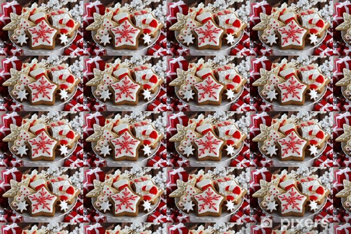 Vinyltapete nach Maß Christmas Background - Internationale Feste