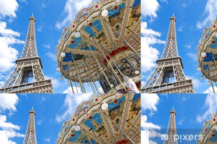 Vinylová Tapeta Paris - Evropská města