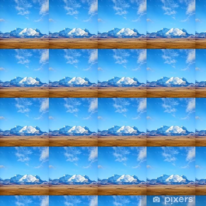 Tapeta na wymiar winylowa Himalaje krajobraz górski w Tybecie - Tematy