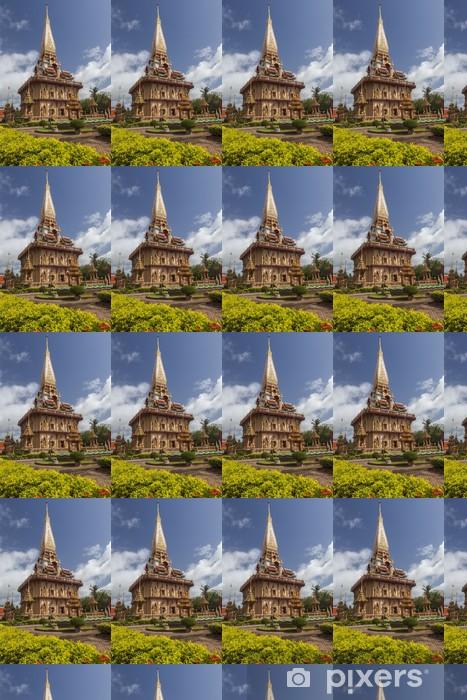 Papier peint vinyle sur mesure Province Wat Chalong Phuket, en Thaïlande. - Asie
