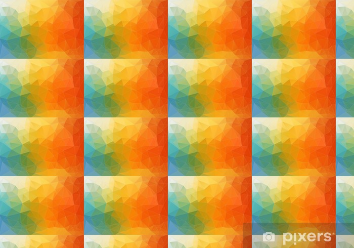 Abstract color polygonal background Vinyl custom-made wallpaper - Themes