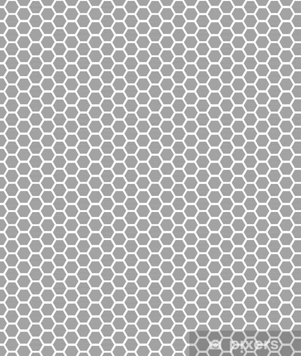Papier peint vinyle sur mesure Hexagones texture avec des lignes. Vecteur Seamless géométrique - Arrière plans
