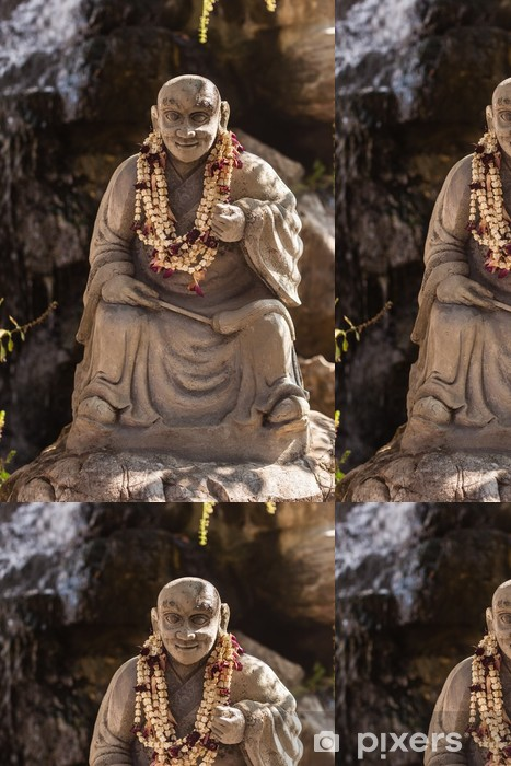 Vinylová Tapeta Buddhistický mnich socha - Asie