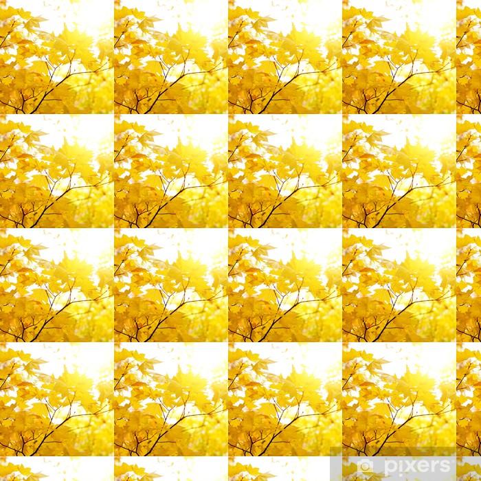 Papier peint vinyle sur mesure Feuillage d'automne - Arbres