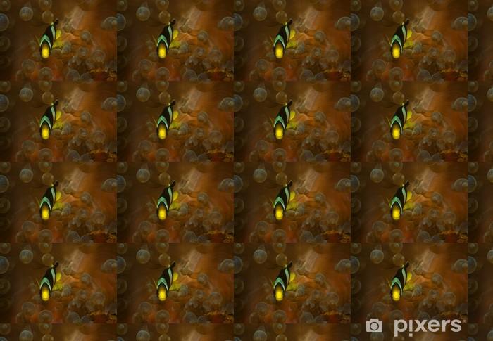 Tapeta na wymiar winylowa Blasenkoralle z błazenki - Oceania