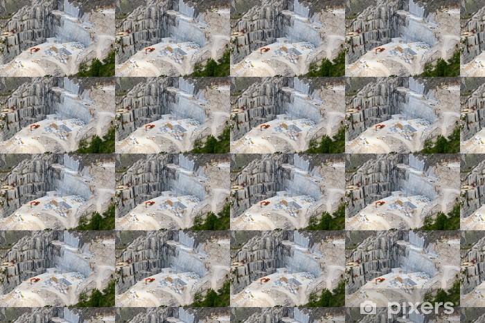 Carrara marble quarry, Tuscany, Italy Wallpaper - Vinyl Custom-made