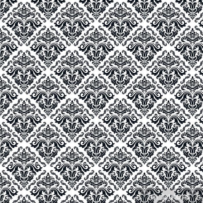 Vinyl behang, op maat gemaakt Orient naadloze vector patroon. Abstracte Achtergrond - Achtergrond