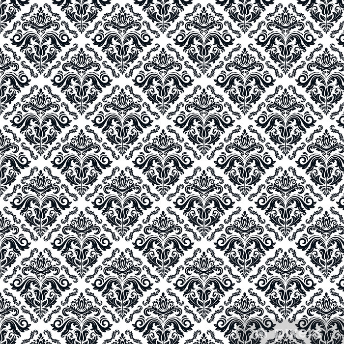 Orient Seamless Vector Pattern. Abstract Background Vinyl custom-made wallpaper - Backgrounds