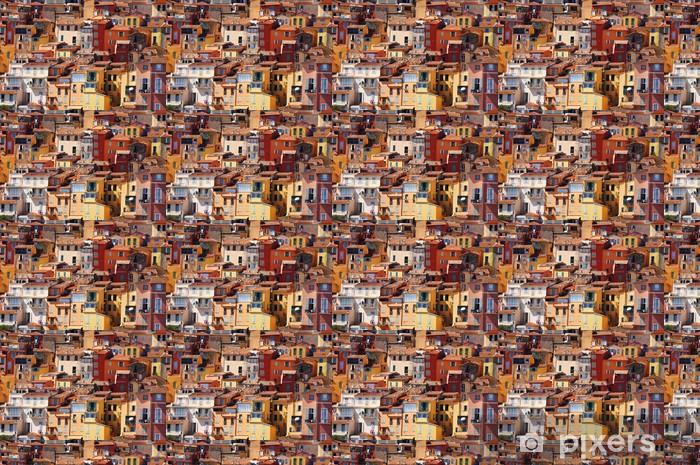 Vinylová tapeta na míru Staré město architektura Menton na Francouzské riviéře - Evropa