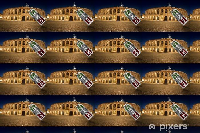 Tapeta na wymiar winylowa Arena di Verona metalowej z tagiem - Europa